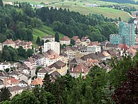 Le centre du Locle