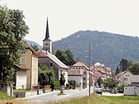 Le village de Travers